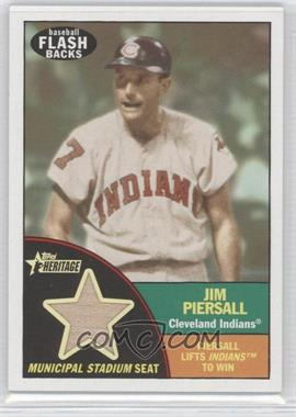 2010 Topps Heritage - Baseball Flashbacks Stadium Relics #FSR-JP - Jim Piersall
