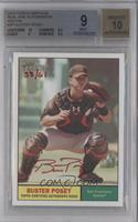Buster Posey /61 [BGS 9]