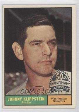2010 Topps Heritage 1961 Topps 50th Anniversary Buybacks #539 - Johnny Klippstein