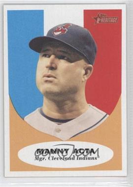 2010 Topps Heritage #222 - Manny Acta