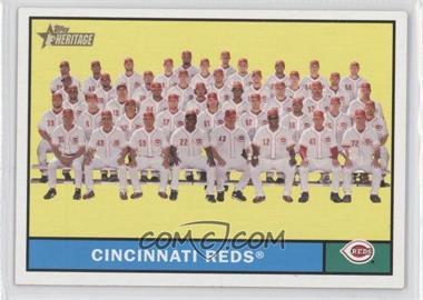 2010 Topps Heritage #249 - Cincinnati Reds Team