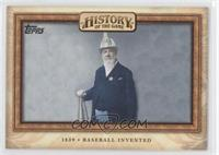 Baseball Invented (Alexander Cartwright)