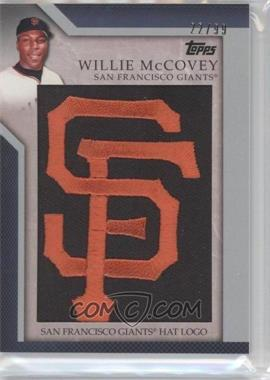 2010 Topps Jumbo Packs Manufactured Hat Logo Relic #MHR-108 - Willie McCovey /99