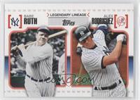 Babe Ruth, Alex Rodriguez