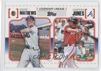 Eddie Mathews, Chipper Jones