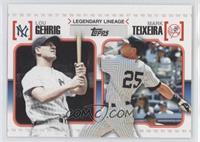 Lou Gehrig, Mark Teixeira