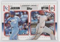 Justin Upton, Bo Jackson