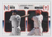 Babe Ruth, Ryan Howard