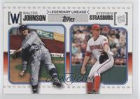 Stephen Strasburg, Walter Johnson