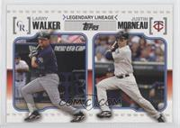 Larry Walker, Justin Morneau, Landry Walker