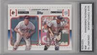 Brooks Robinson, Ryan Zimmerman [ENCASED]