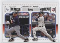 Larry Walker, Justin Morneau