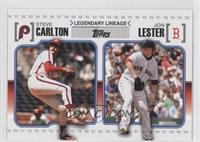 Starlin Castro, Jon Lester