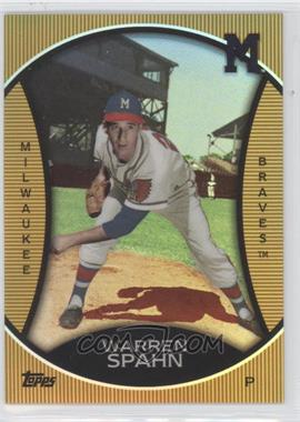 2010 Topps Legends Chrome Cereal Target Gold #GC14 - Warren Spahn