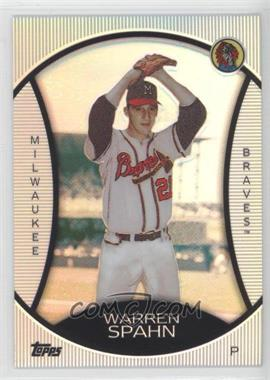 2010 Topps Legends Chrome Cereal Wal-Mart Platinum #PC4 - Warren Spahn