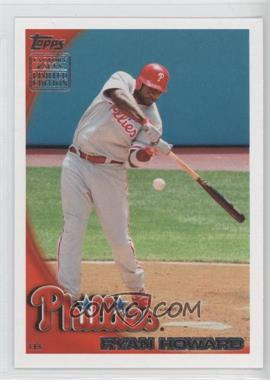 2010 Topps Limited Edition Factory Set [Base] #RS1 - Ryan Howard