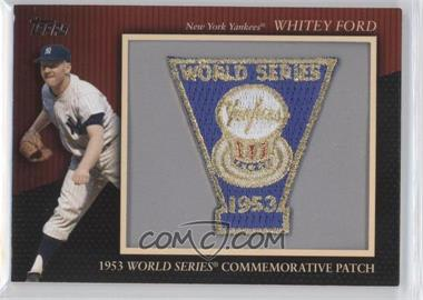 2010 Topps Manufactured Commemorative Patch #MCP-118 - Whitey Ford