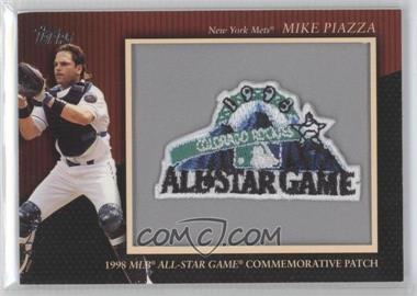 2010 Topps Manufactured Commemorative Patch #MCP-134 - Mike Piazza