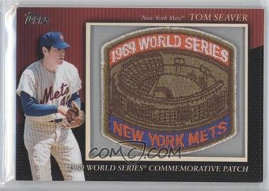 2010 Topps Manufactured Commemorative Patch #MCP-75 - Tom Seaver