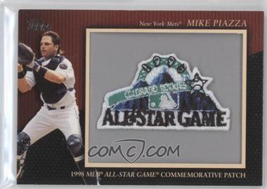 2010 Topps Manufactured Commemorative Patch #MCP134 - Mike Piazza