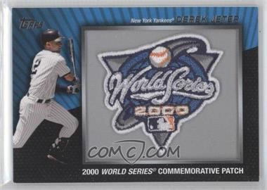 2010 Topps Manufactured Commemorative Patch #MCP135 - Derek Jeter