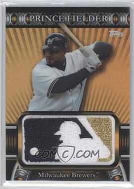 2010 Topps Manufactured Logoman Patches #LM-92 - Prince Fielder /50