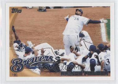 2010 Topps Milwaukee Brewers - [Base] #MIL7 - Prince Fielder