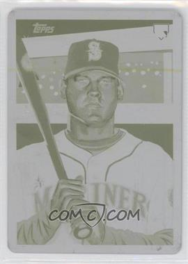 2010 Topps National Chicle - [Base] - Printing Plate Yellow #270 - Adam Moore /1