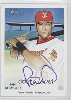 2010 Topps National Chicle Certified Autograph [Autographed] #NCA-ID - Ian Desmond