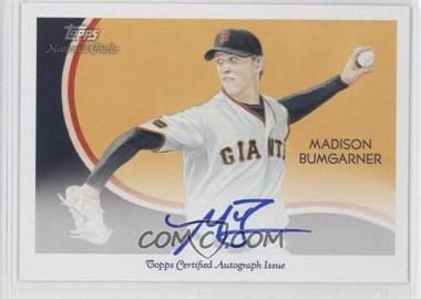 2010 Topps National Chicle Certified Autograph [Autographed] #NCA-MB - Madison Bumgarner