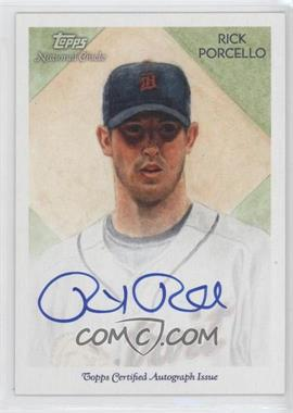 2010 Topps National Chicle Certified Autograph [Autographed] #NCA-RP - Rick Porcello