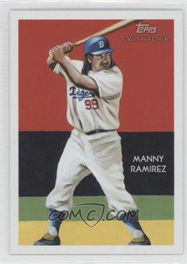 2010 Topps National Chicle Red Umbrella Logo Back #307 - Manny Ramirez /1