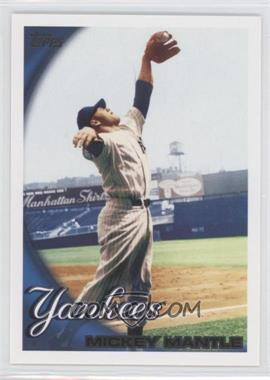 2010 Topps New York Yankees - [Base] #NYY7 - Mickey Mantle