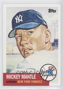 2010 Topps New York Yankees 27 World Series Titles - [Base] #YC16 - Mickey Mantle