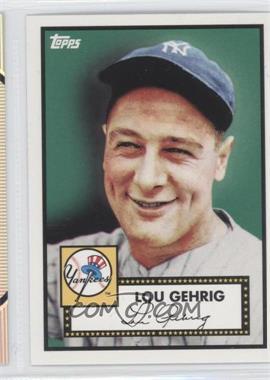 2010 Topps New York Yankees 27 World Series Titles - [Base] #YC2 - Lou Gehrig
