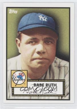 2010 Topps New York Yankees 27 World Series Titles #YC1 - Babe Ruth