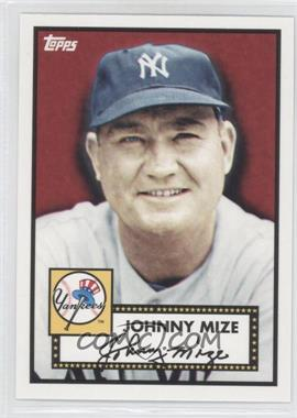 2010 Topps New York Yankees 27 World Series Titles #YC12 - Johnny Mize