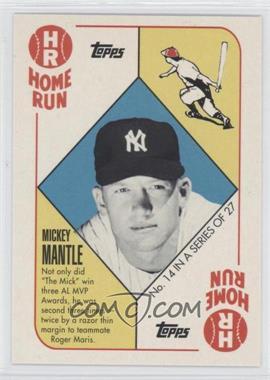 2010 Topps New York Yankees 27 World Series Titles #YC14 - Mickey Mantle