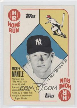 2010 Topps New York Yankees 27 World Series Titles #YC14 - Mickey Mantle