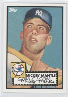 2010 Topps New York Yankees 27 World Series Titles #YC15 - Mickey Mantle