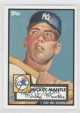 2010 Topps New York Yankees 27 World Series Titles #YC15 - Mickey Mantle