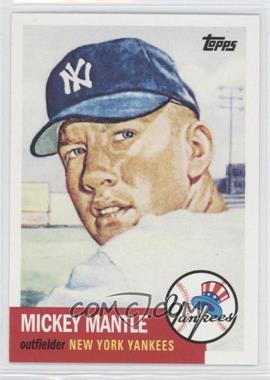 2010 Topps New York Yankees 27 World Series Titles #YC16 - Mickey Mantle