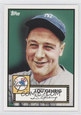 2010 Topps New York Yankees 27 World Series Titles #YC2 - Lou Gehrig