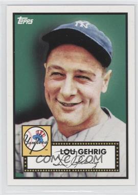 2010 Topps New York Yankees 27 World Series Titles #YC2 - Lou Gehrig