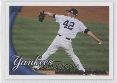 2010 Topps New York Yankees #NYY12 - Mariano Rivera