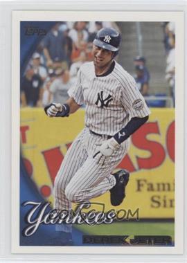 2010 Topps New York Yankees #NYY14 - Derek Jeter
