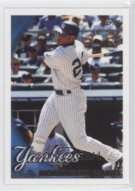 2010 Topps New York Yankees #NYY9 - Robinson Cano