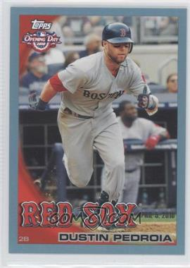 2010 Topps Opening Day - [Base] - Blue #187 - Dustin Pedroia /2010
