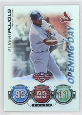 2010 Topps Opening Day [???] #N/A - Albert Pujols
