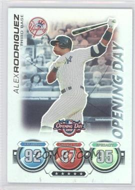 2010 Topps Opening Day [???] #N/A - Alex Rodriguez